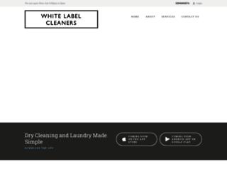 whitelabelcleaners.com screenshot