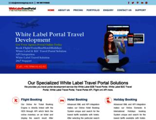 whitelabeltravelportal.com screenshot