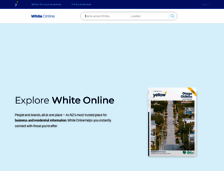 whitepages.co.nz screenshot