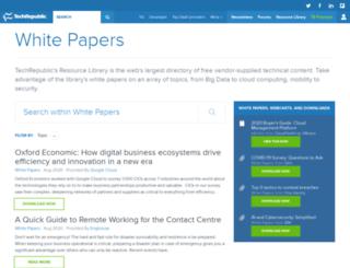 whitepapers.zdnet.co.uk screenshot