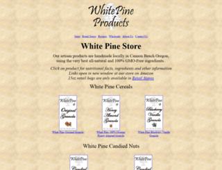 whitepine.us screenshot