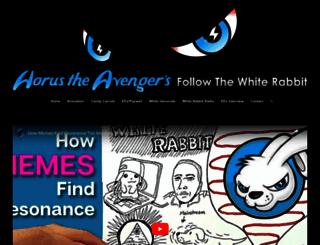 whiterabbitradio.net screenshot