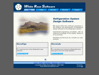 whiterosesoftware.com screenshot