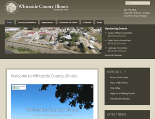 whiteside.org screenshot