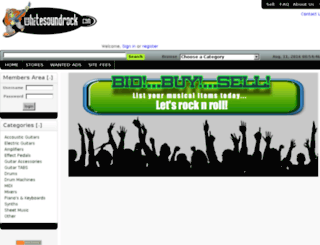 whitesoundrock.com screenshot