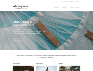 whitespace.co.nz screenshot