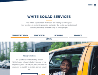 whitesquad.com screenshot