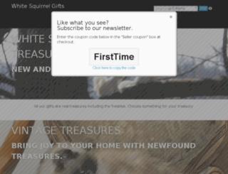 whitesquirrelgifts.com screenshot