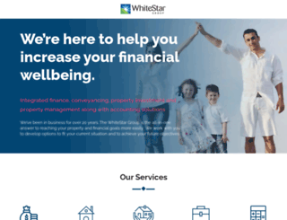 whitestarfinance.com.au screenshot