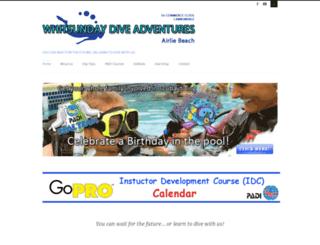 whitsundaydivecentre.com screenshot