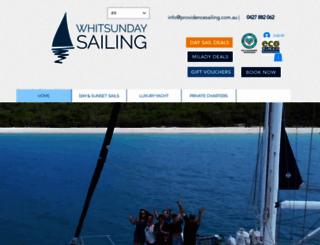 whitsundaysailing.com.au screenshot