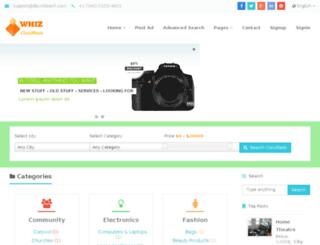 whiz.dbcinfotech.net screenshot