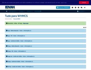 whmcs.edvan.com.br screenshot