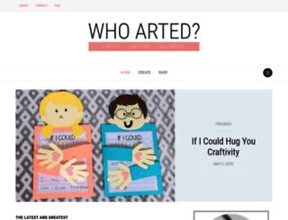 who-arted.com screenshot