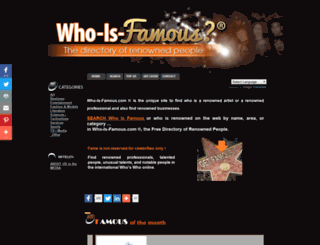 who-is-famous.com screenshot
