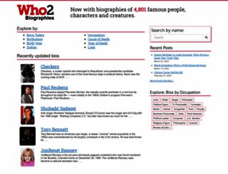 who2.com screenshot
