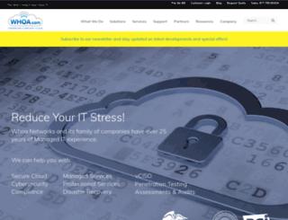 whoa.com screenshot
