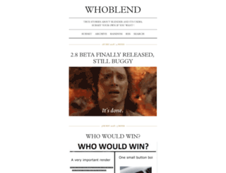 whoblend.tumblr.com screenshot