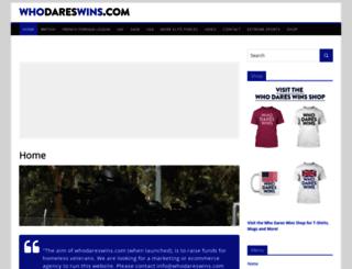 whodareswins.com screenshot
