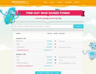 whogotfunded.com screenshot