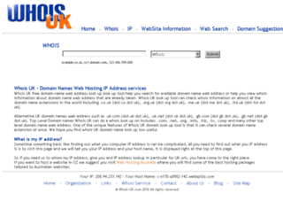 whois-uk.com screenshot