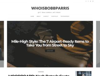 whoisbobbparris.blogspot.com screenshot