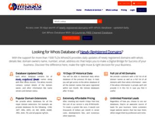 whoisds.com screenshot