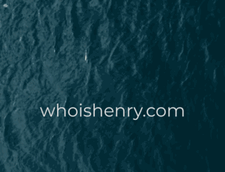 whoishenry.com screenshot