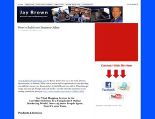 whoisjaybrown.com screenshot
