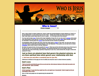 whoisjesus-really.com screenshot