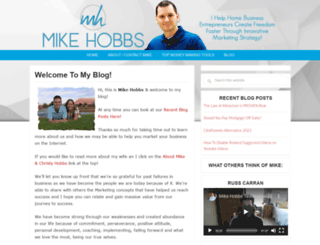 whoismikehobbs.com screenshot