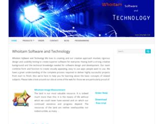 whoitam.com screenshot