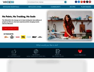 whole30.com screenshot
