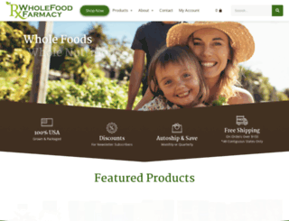 wholefoodfarmacy.com screenshot