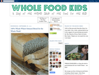wholefoodkids.blogspot.com.au screenshot
