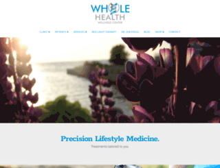 wholehealthllc.com screenshot