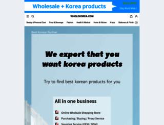 wholekorea.com screenshot
