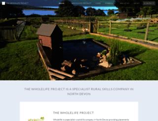 wholelifeproject.co.uk screenshot