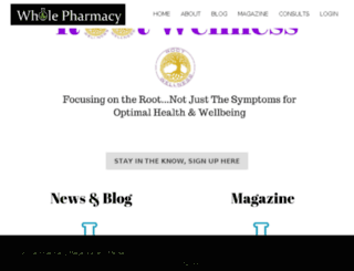wholepharmacy.com screenshot