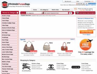 wholesale-purses-bags.com screenshot