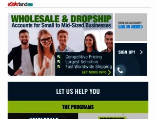 wholesale.estarland.com screenshot