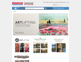 wholesale.harvestfineart.com screenshot