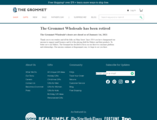 wholesale.thegrommet.com screenshot