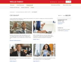wholesale.wellsfargobank.com screenshot