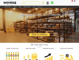 wholesale.wishbeer.com screenshot