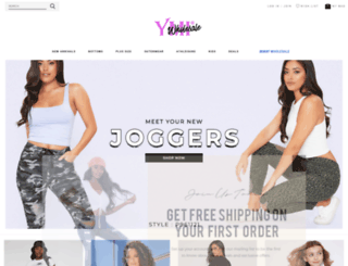 wholesale.ymijeans.com screenshot