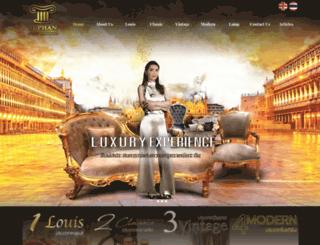 wholesaleantiquereproductionfurniture.com screenshot