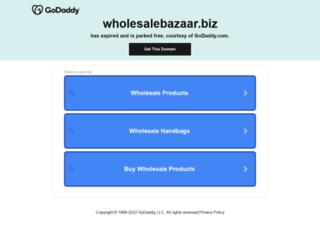 wholesalebazaar.biz screenshot