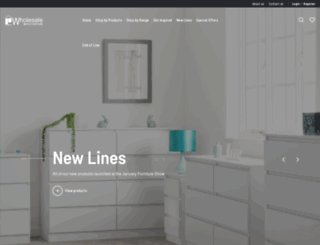 wholesalebeds.net screenshot
