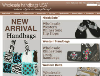 wholesalehandbagsusa.com screenshot